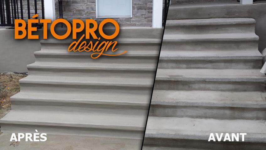 Reparation Escalier Beton Exterieur  R Novation Contremarches